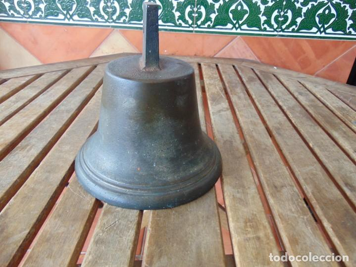 Antigüedades: CAMPANA EN BRONCE ESTACION DE TREN ,BARCO O SIMILAR NO ESTA MARCADA 20 X 20.5 CM SOBRE 5000 GRAMOS - Foto 12 - 276602633