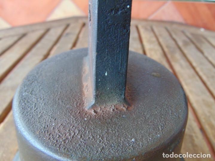 Antigüedades: CAMPANA EN BRONCE ESTACION DE TREN ,BARCO O SIMILAR NO ESTA MARCADA 20 X 20.5 CM SOBRE 5000 GRAMOS - Foto 13 - 276602633