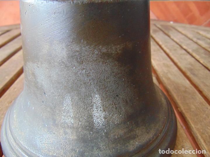 Antigüedades: CAMPANA EN BRONCE ESTACION DE TREN ,BARCO O SIMILAR NO ESTA MARCADA 20 X 20.5 CM SOBRE 5000 GRAMOS - Foto 18 - 276602633