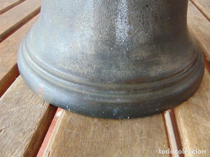 Antigüedades: CAMPANA EN BRONCE ESTACION DE TREN ,BARCO O SIMILAR NO ESTA MARCADA 20 X 20.5 CM SOBRE 5000 GRAMOS - Foto 19 - 276602633