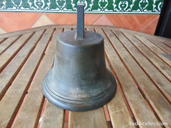 Antigüedades: CAMPANA EN BRONCE ESTACION DE TREN ,BARCO O SIMILAR NO ESTA MARCADA 20 X 20.5 CM SOBRE 5000 GRAMOS - Foto 20 - 276602633