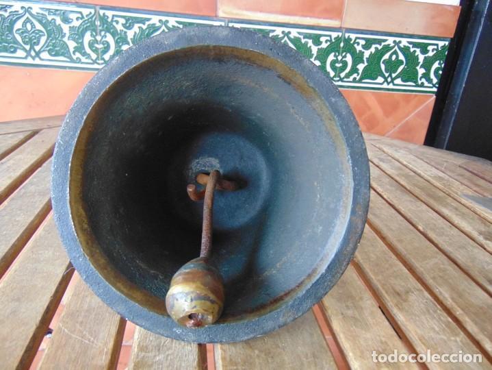 Antigüedades: CAMPANA EN BRONCE ESTACION DE TREN ,BARCO O SIMILAR NO ESTA MARCADA 20 X 20.5 CM SOBRE 5000 GRAMOS - Foto 24 - 276602633