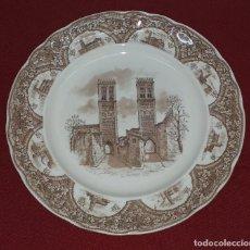 Antigüedades: PLATO DE PORCELANA PONTESA MADE IN SPAIN. Lote 184432181