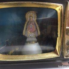 Antigüedades: TELEVISOR SOUVENIR - SANTUARIO NTRA SRA VIRGEN DE REGLA - CHIPIONA - CADIZ - FUNCIONANDO,. Lote 184433420