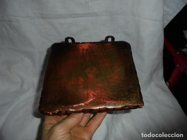 Antigüedades: ANTIGUA MENSULA ESCAYOLA DORADA LEER - Foto 4 - 267387049