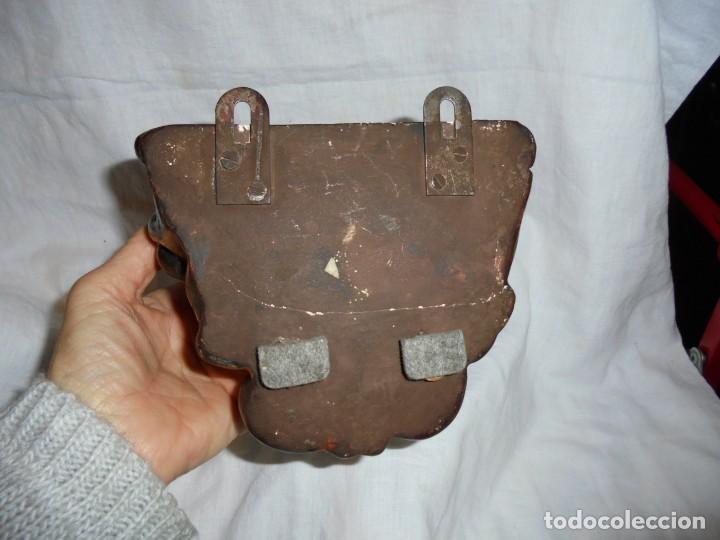 Antigüedades: ANTIGUA MENSULA ESCAYOLA DORADA LEER - Foto 5 - 267387049