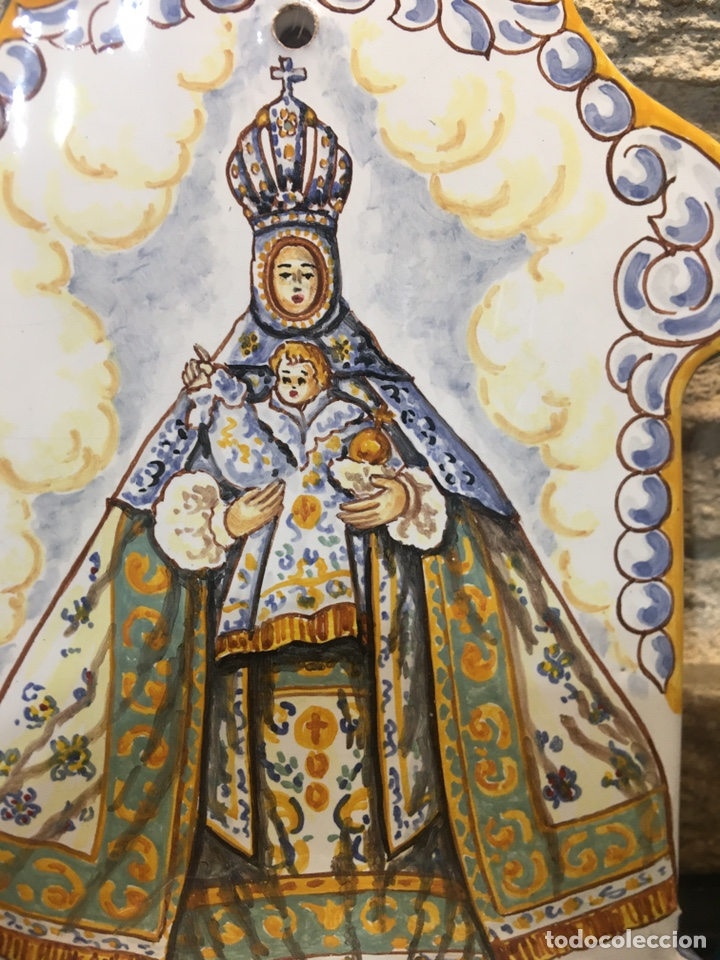 Antigüedades: Benditera de nuestra señora del sagrario Toledo - Foto 2 - 184458737