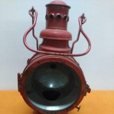 Antigüedades: LAMPARA , LINTERNA , FAROL , FERROVIARIO , FERROCARRIL , TREN ALEMAN 1949 NURNBERG. Lote 184461360