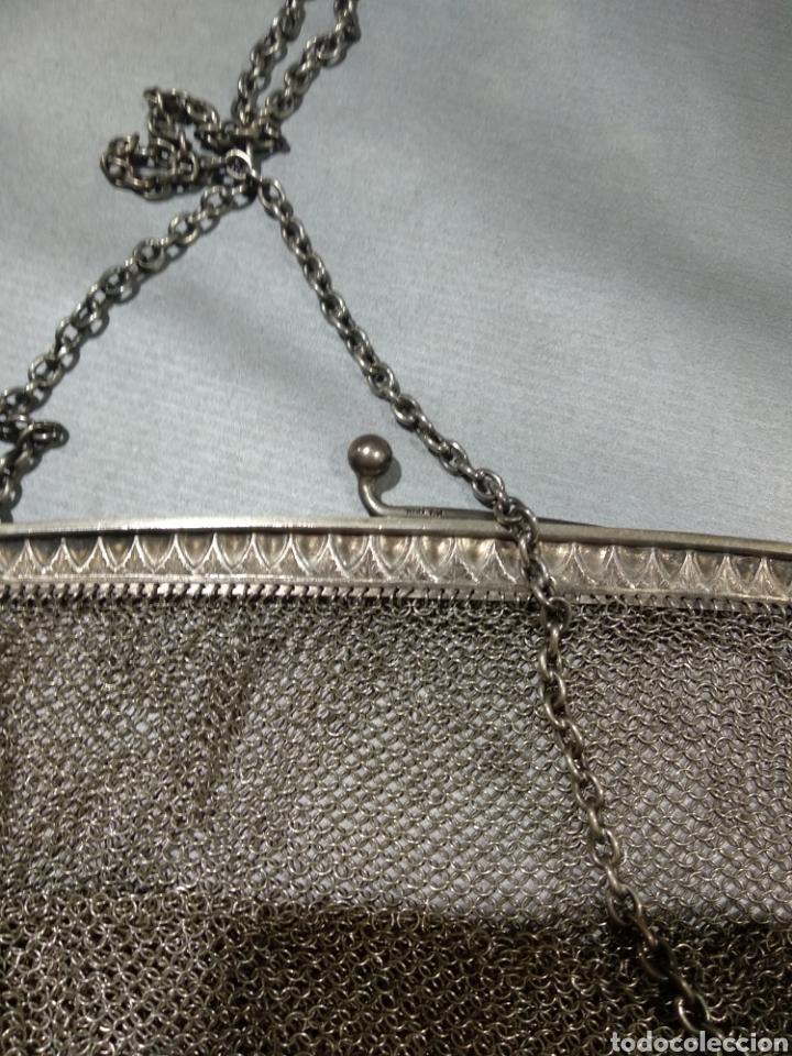 Antigüedades: Bolso de malla de plata - Foto 3 - 184516918