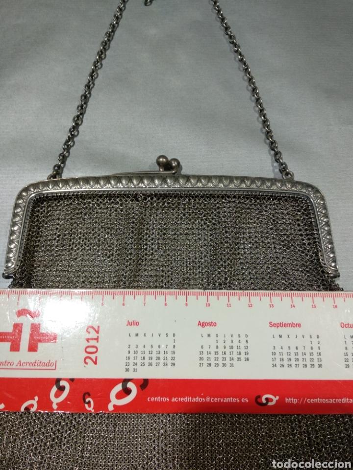 Antigüedades: Bolso de malla de plata - Foto 4 - 184516918