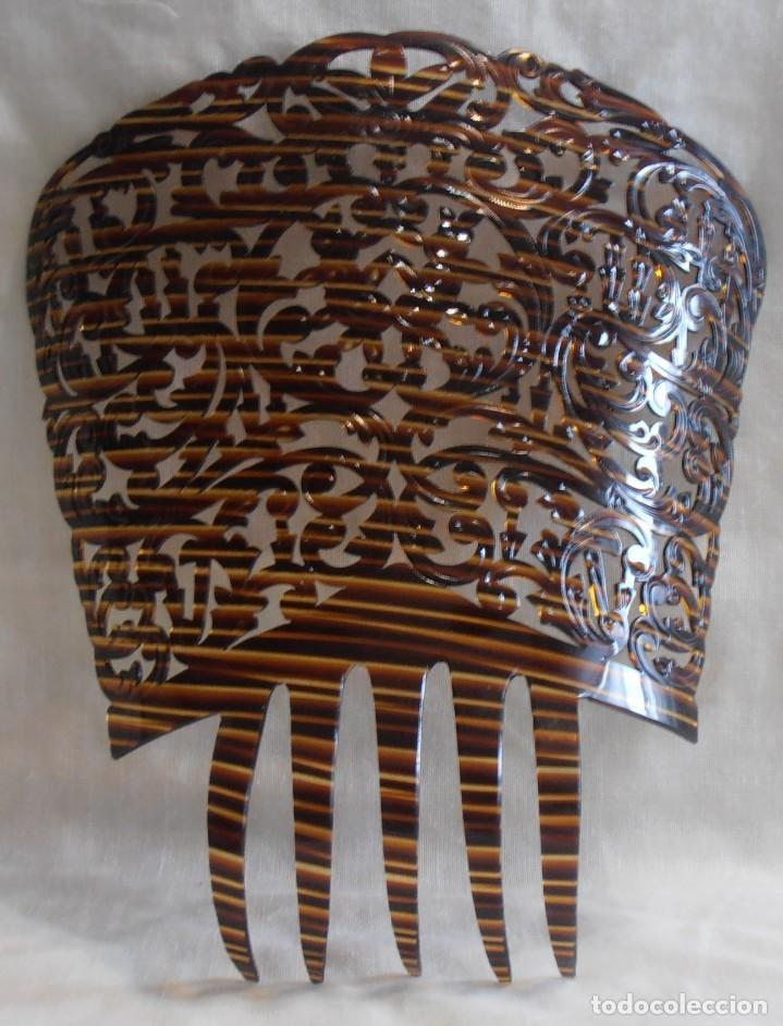 PEINETA 26 CM DE LARGO (Antigüedades - Moda - Peinetas Antiguas)