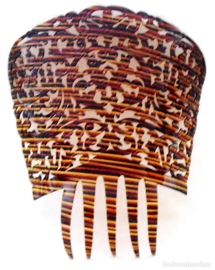 Antigüedades: PEINETA 26 CM DE LARGO - Foto 3 - 184543843