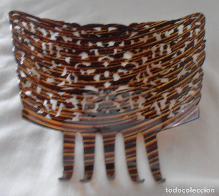 Antigüedades: PEINETA 26 CM DE LARGO - Foto 5 - 184543843