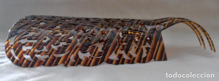Antigüedades: PEINETA 26 CM DE LARGO - Foto 6 - 184543843