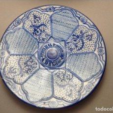 Antigüedades: PLATO MANISES PPIOS. S.XX. Lote 184544160