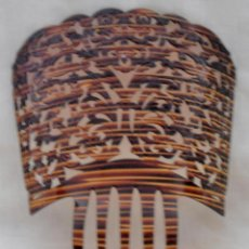 Antigüedades: PEINETA DE FLAMENCA, 26 CM DE LARGO. Lote 184544285