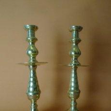 Antigüedades: CANDELEROS SIGLO XVIII. Lote 184547898