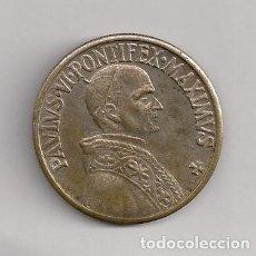Antigüedades: MEDALLA PABLO VI. Lote 184600383