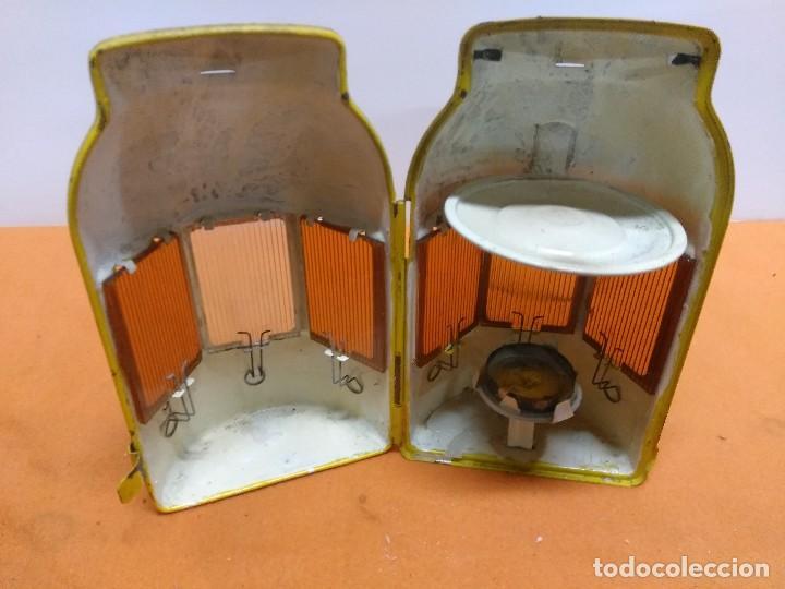 Antigüedades: LAMPARA , LINTERNA , FAROL , FERROVIARIO , FERROCARRIL ,OBRAS PUBLICAS ALEMAN - Foto 4 - 184608713