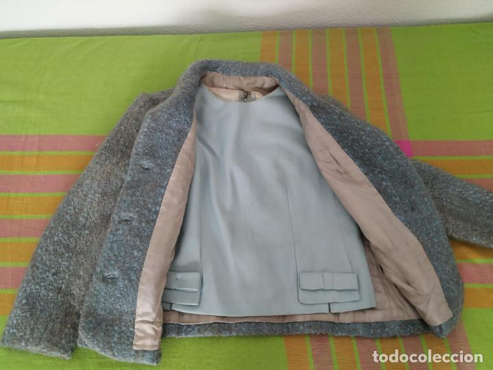 Antigüedades: Traje chaqueta, falda y cuerpo de lana. Años 50/60. Prince González. San Sebastián - Foto 5 - 184618527