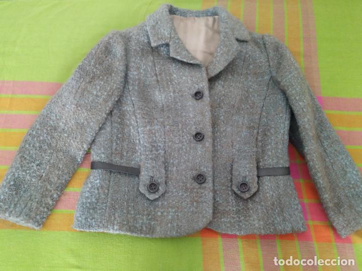 Antigüedades: Traje chaqueta, falda y cuerpo de lana. Años 50/60. Prince González. San Sebastián - Foto 6 - 184618527
