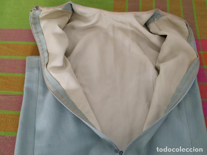 Antigüedades: Traje chaqueta, falda y cuerpo de lana. Años 50/60. Prince González. San Sebastián - Foto 11 - 184618527