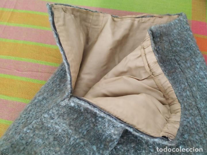 Antigüedades: Traje chaqueta, falda y cuerpo de lana. Años 50/60. Prince González. San Sebastián - Foto 13 - 184618527