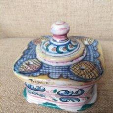 Antigüedades: ANTIGUO TINTERO, TALAVERA MONTEMAYOR. Lote 184624265