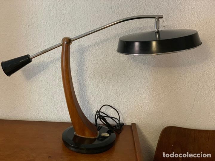 LÁMPARA FASE PENDULO VINTAGE (Antigüedades - Iluminación - Lámparas Antiguas)