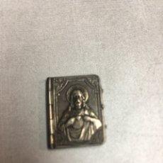 Antigüedades: LIBRO SAGRADO CORAZON Y VIRGEN MARIA . Lote 184681356