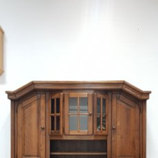 Antigüedades: ALACENA RUSTICA DE ROBLE. Lote 184691618
