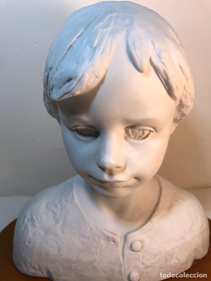Antigüedades: Figura Porcelana- Lladró- Niña Busto- Serie Limitada n 134 de 500 - Foto 6 - 184720917
