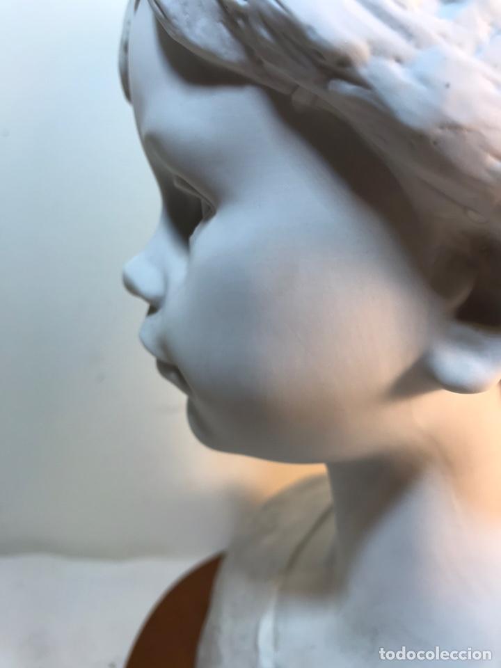 Antigüedades: Figura Porcelana- Lladró- Niña Busto- Serie Limitada n 134 de 500 - Foto 14 - 184720917