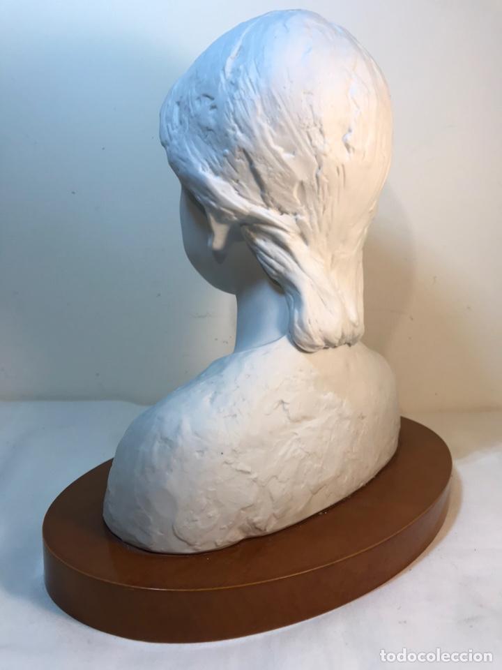 Antigüedades: Figura Porcelana- Lladró- Niña Busto- Serie Limitada n 134 de 500 - Foto 15 - 184720917