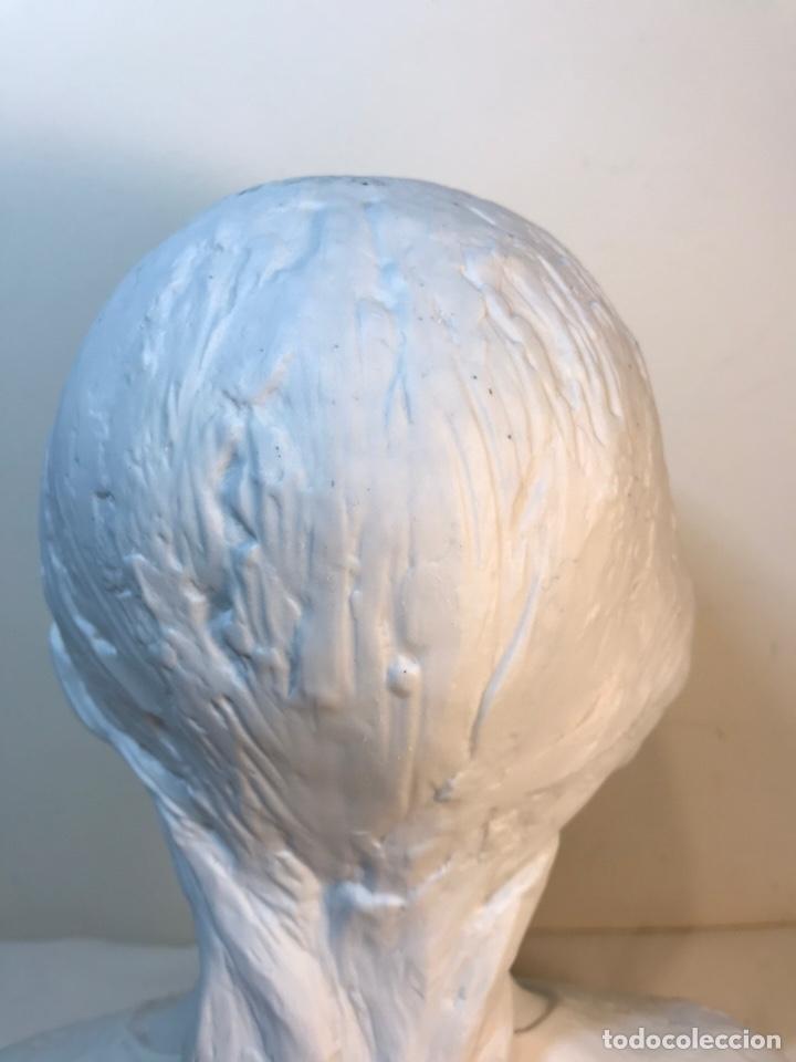 Antigüedades: Figura Porcelana- Lladró- Niña Busto- Serie Limitada n 134 de 500 - Foto 18 - 184720917