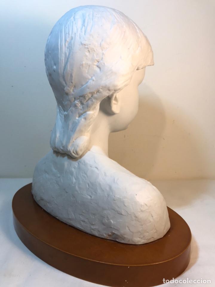 Antigüedades: Figura Porcelana- Lladró- Niña Busto- Serie Limitada n 134 de 500 - Foto 19 - 184720917