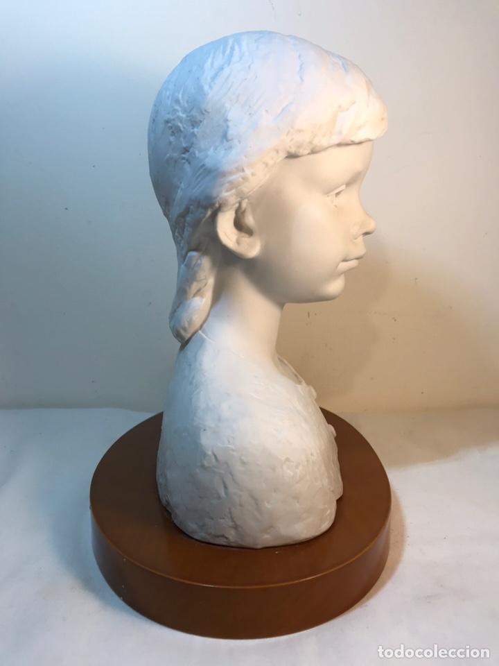Antigüedades: Figura Porcelana- Lladró- Niña Busto- Serie Limitada n 134 de 500 - Foto 20 - 184720917