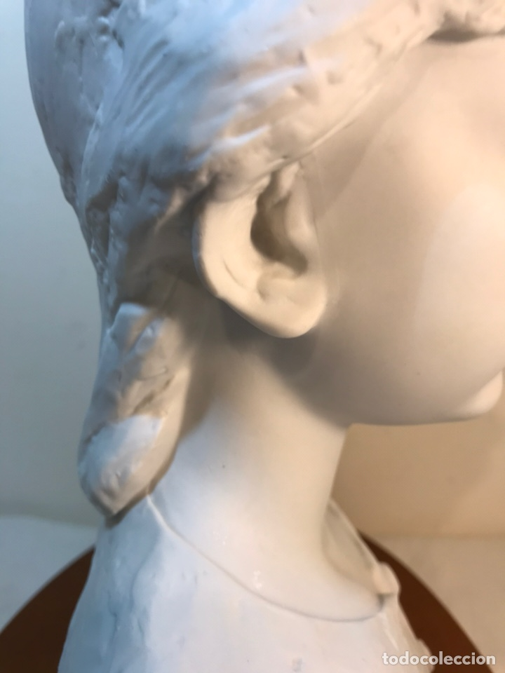 Antigüedades: Figura Porcelana- Lladró- Niña Busto- Serie Limitada n 134 de 500 - Foto 21 - 184720917