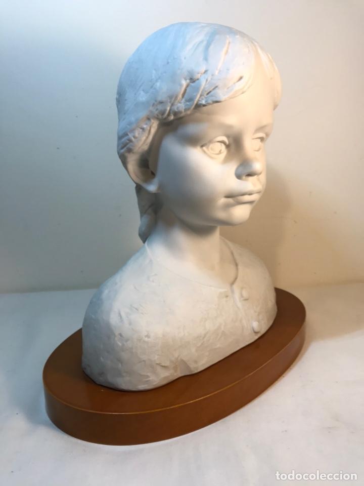 Antigüedades: Figura Porcelana- Lladró- Niña Busto- Serie Limitada n 134 de 500 - Foto 24 - 184720917