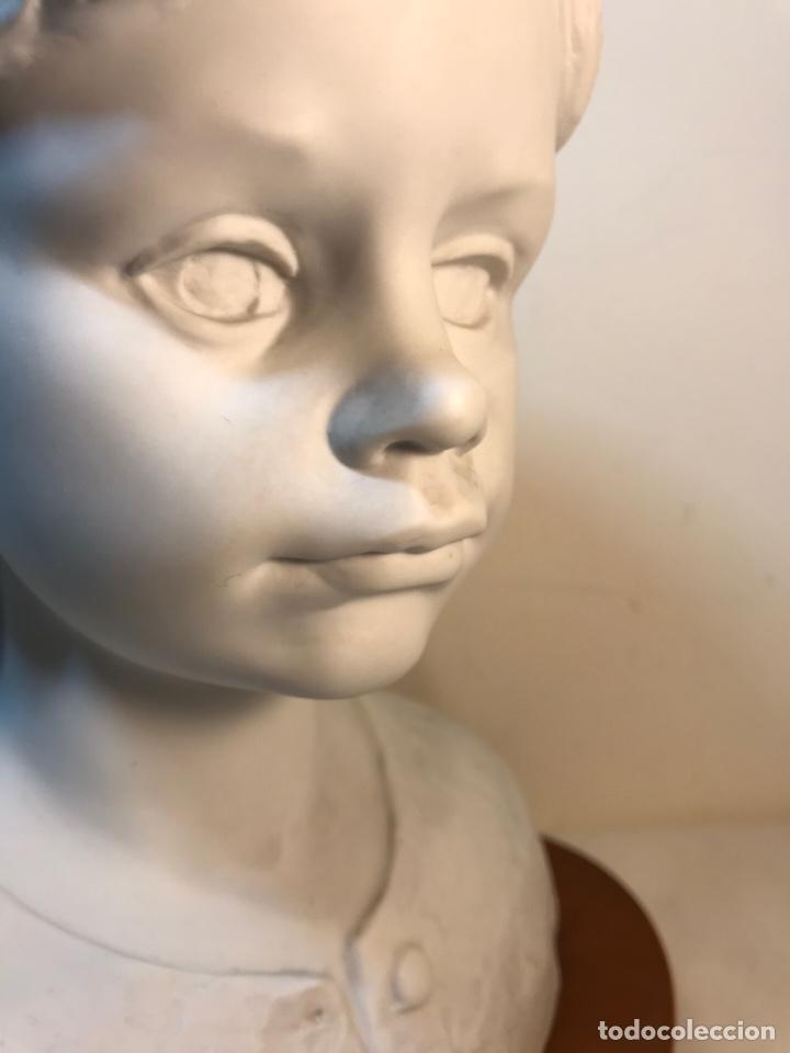 Antigüedades: Figura Porcelana- Lladró- Niña Busto- Serie Limitada n 134 de 500 - Foto 25 - 184720917