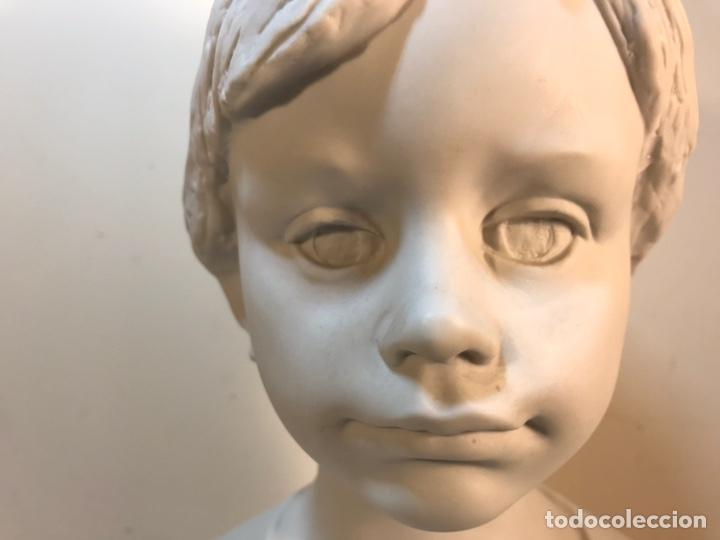 Antigüedades: Figura Porcelana- Lladró- Niña Busto- Serie Limitada n 134 de 500 - Foto 27 - 184720917