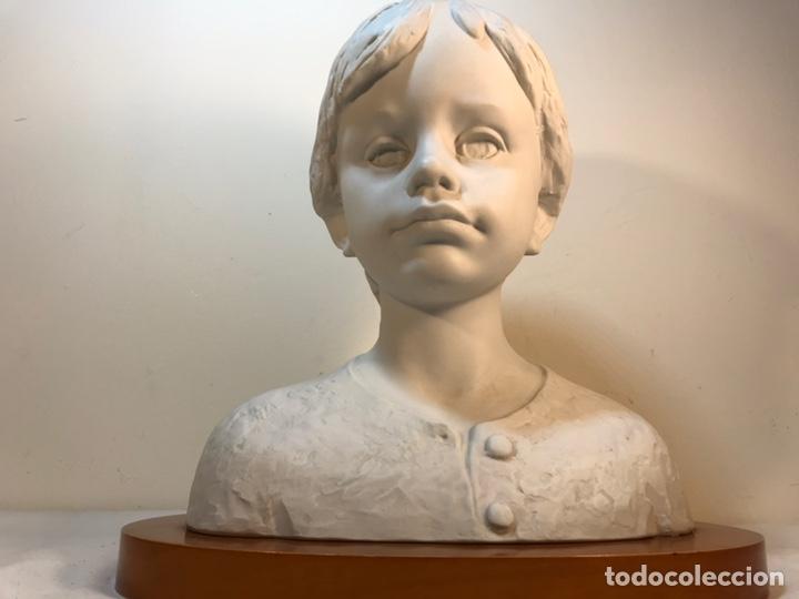Antigüedades: Figura Porcelana- Lladró- Niña Busto- Serie Limitada n 134 de 500 - Foto 28 - 184720917