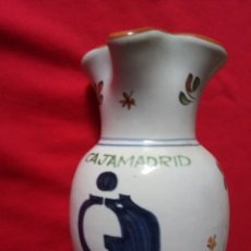 Antigüedades: CERÁMICA DE TALAVERA CAJA MADRID. Lote 184755818