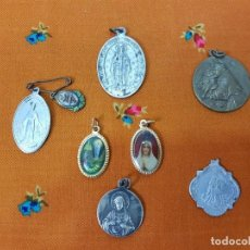 Antigüedades: LOTE MEDALLAS ANTIGUAS. Lote 184760052
