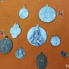 Antigüedades: LOTE MEDALLAS ANTIGUAS. Lote 184760978