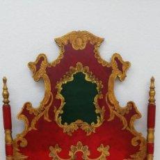Antiquités: CABECERO POLICROMADO PRINCIPIOS SIGLO XX. Lote 184804821