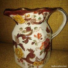 Antigüedades: JARRA DE PORCELANA INGLESA MASON'S, AÑOS 50, GRAN CALIDAD. Lote 184820570