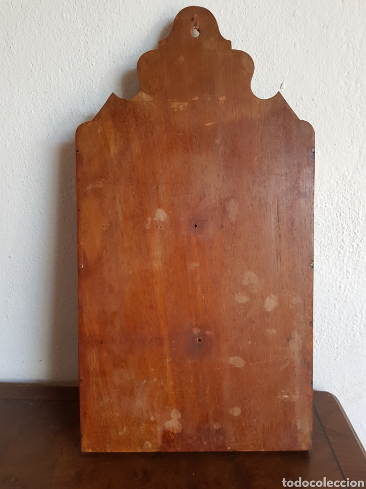 Antigüedades: Antiguo Cartero o porta cartas en madera. - Foto 5 - 184837803