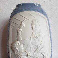 Antigüedades: ESTUPENDO JARRÓN LLADRO DON QUIJOTE. Lote 184839308