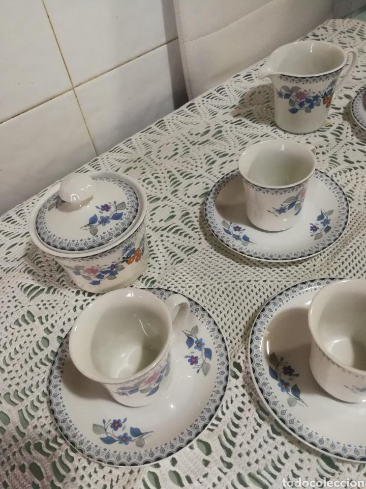 Antigüedades: Juego de café de porcelana. - Foto 3 - 184852240